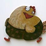 Huhn Kinderzimmer Bild