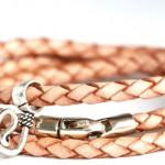 Geflochtenes Leder Armband