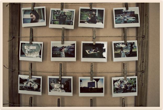 Bilderrahmen selbstgemacht mit alten Fotos