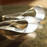 Schmuckdesign Ohrringe silber von Intrada's