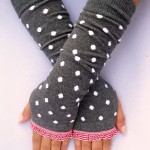 Handstulpen als modisches Accessoire für den Winter