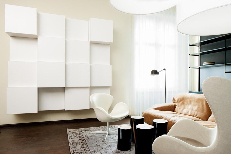 wohnzimmer modern und geschmackvoll einrichten mit hochwertigen m beln. Black Bedroom Furniture Sets. Home Design Ideas