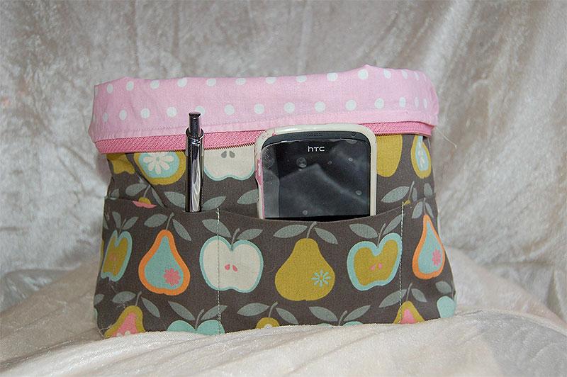 Utensilo nähen für praktische Taschen mit diesem tollen Schnittmuster!