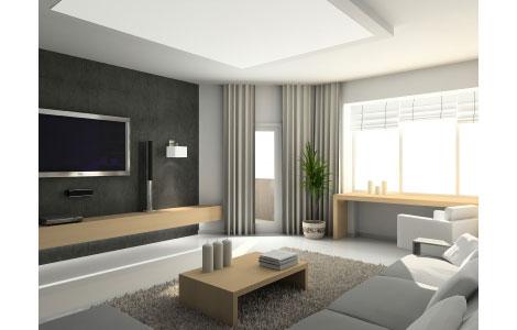 wohnzimmer ideen mit gardinen kissen teppichen und tischw sche. Black Bedroom Furniture Sets. Home Design Ideas