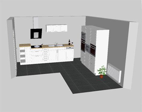 k chenplaner online verdeutlicht diverse einrichtungsm glichkeiten. Black Bedroom Furniture Sets. Home Design Ideas