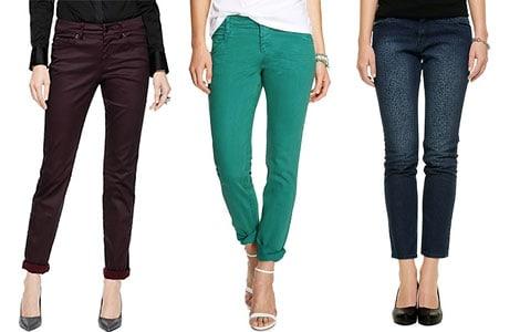 b5d85d0eeb7dab Jeans für Damen bestechen im Frühjahr 2014 durch Farb-Effekte