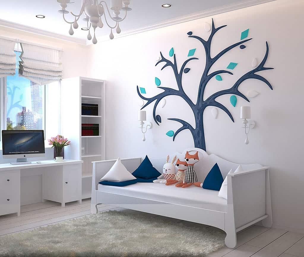 Farben im Kinderzimmer haben eine ganz bestimmte Wirkung auf ...