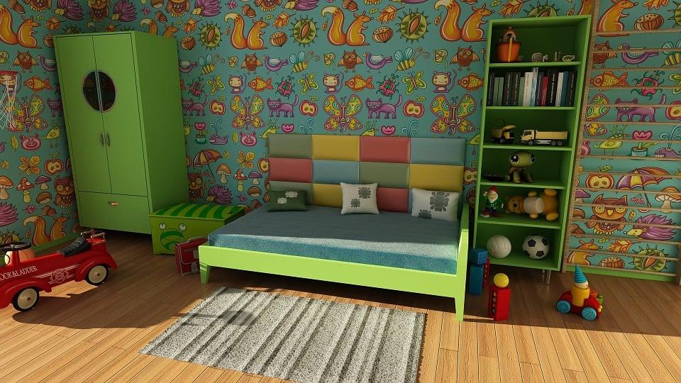 Farben Im Kinderzimmer Haben Eine Ganz Bestimmte Wirkung Auf Das Kind