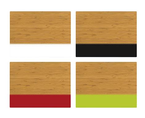 Tabeo Bambus Tischset Blocks Kreativliste