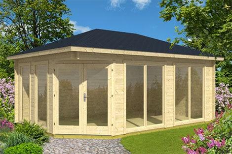Gartenhaus passend zum Eigenheim ist heute problemlos möglich