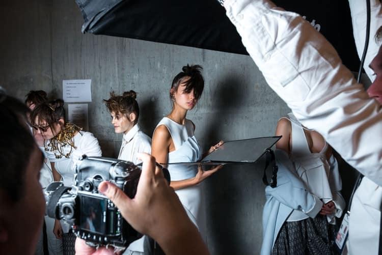 Hinter den Kulissen der Fashion Week