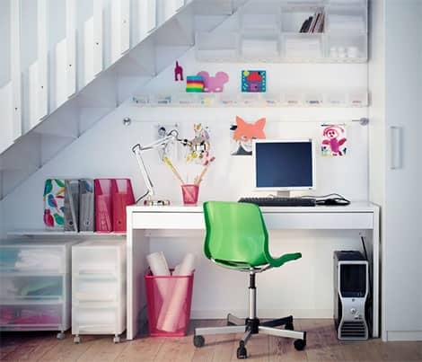 ideen f r ein stilvolles home office. Black Bedroom Furniture Sets. Home Design Ideas