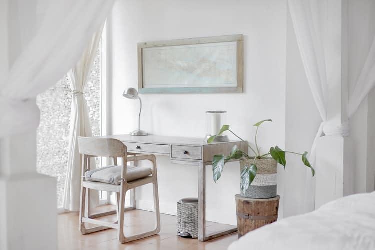 Viel Licht im Schlafzimmer durch eine entsprechende Einrichtung
