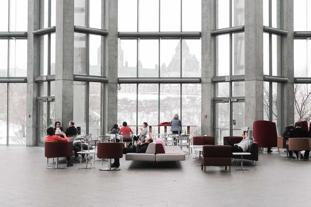 Loungebereich im Business