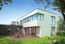Moderne Häuser haben häufig viele Glasflächen