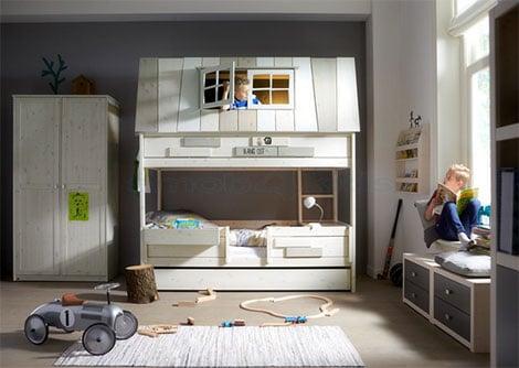 Welches kinderbett ist im alter von 4 bis 10 jahren geeignet - Abenteuerbett junge ...