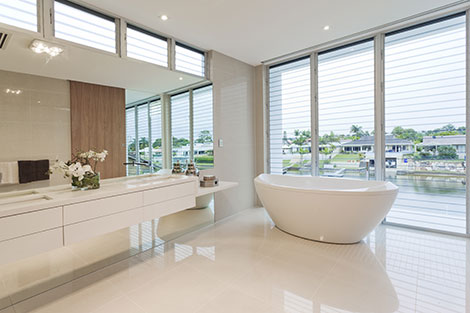 beautiful freistehende badewanne einrichten modern gallery