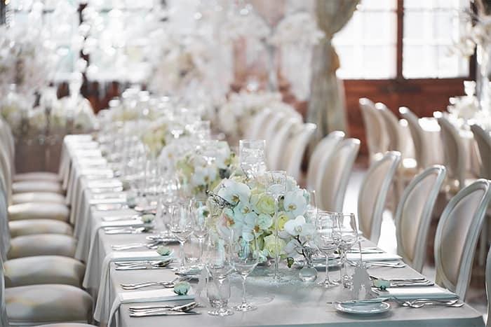 Hochzeitsdekoration Weiss Kreativliste