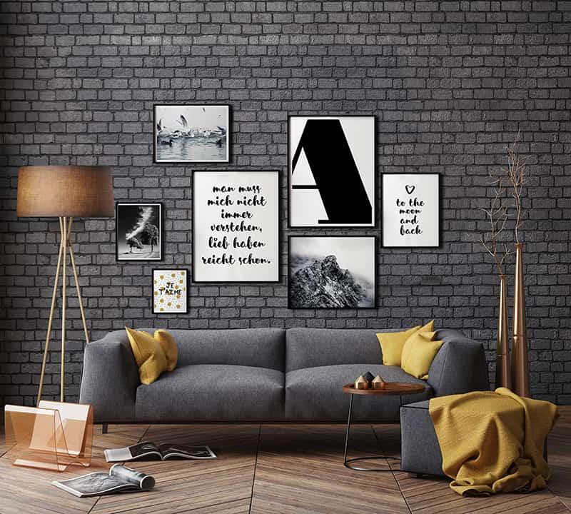 Bilderwand gestalten kreativliste - Fotowand gestalten ...