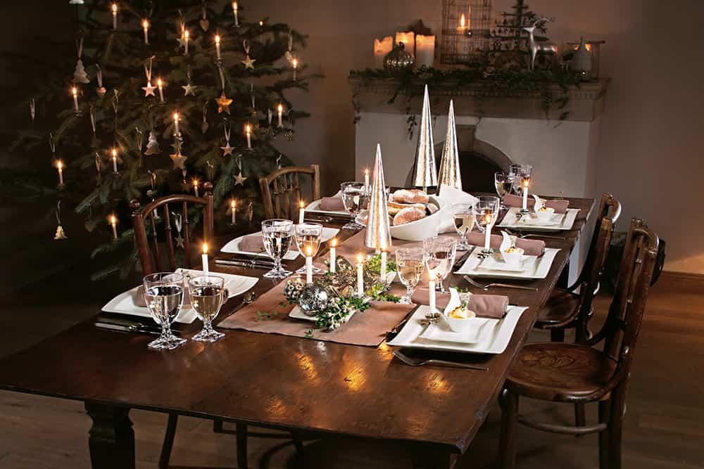 Tisch Weihnachtlich Decken