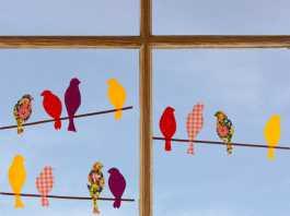 Motive mit Klebefolie gestalten für ein schönes Fensterbild