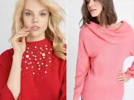 Gemütliche Pullover für kältere Temperaturen