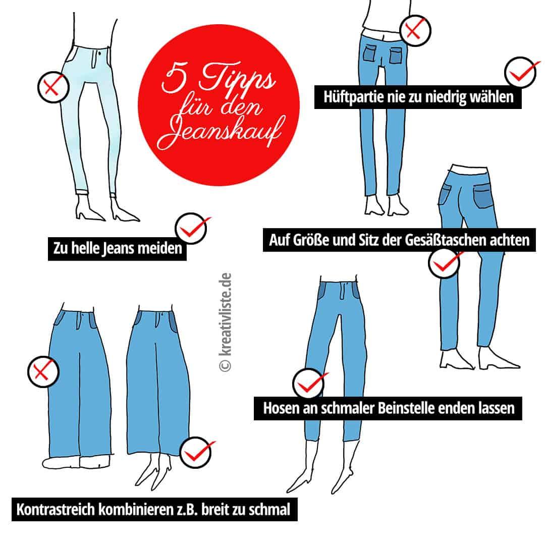 5 Tipps für Deinen Jeanskauf