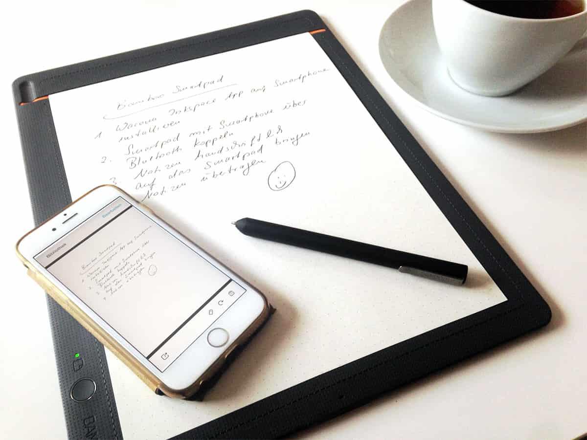 Mit dem Smartpad handschriftliche Notizen digitalisieren
