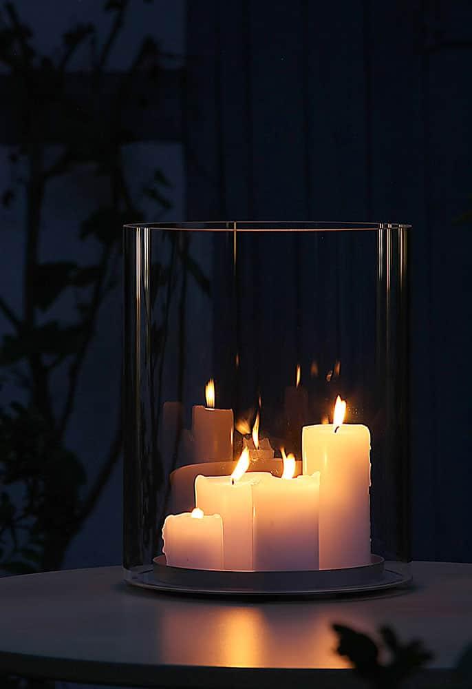 10 Ideen für die Dekoration mit Kerzen und Windlicht - kreativLISTE