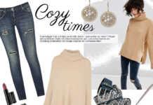 Styling Tipp mit Kuschelpullover und Jeans