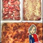Rezept für Hähnchen mit Feta und Tomatenpesto im Schinkenmantel