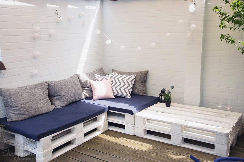 Gem tliche lounge im garten gestalten kreativliste - Garten lounge aus paletten ...