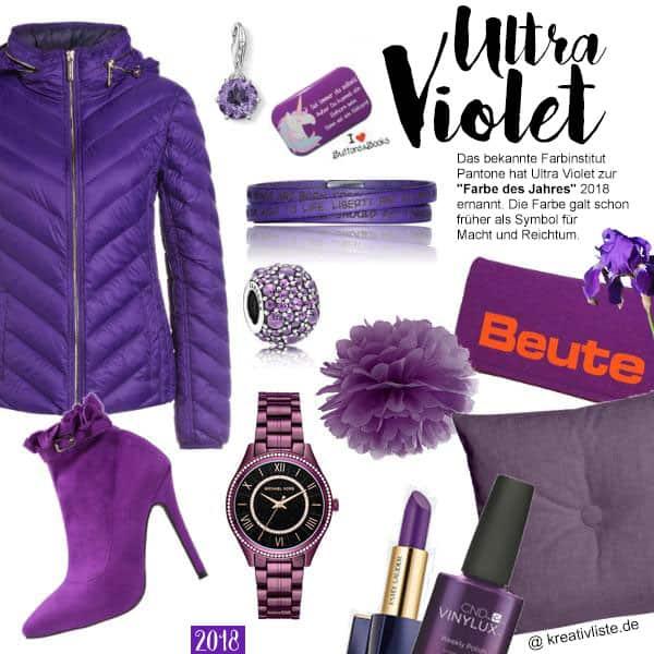Ultra Violett ist die Farbe des Jahres 2017