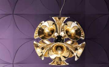 Ultra Violett passt toll zu Gold