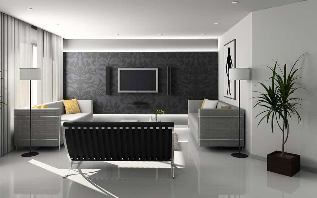 Wandfarben am besten auf die Möbel abstimmen