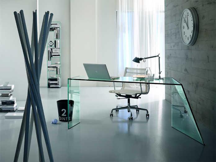 Glas-Schreibtisch PENROSE