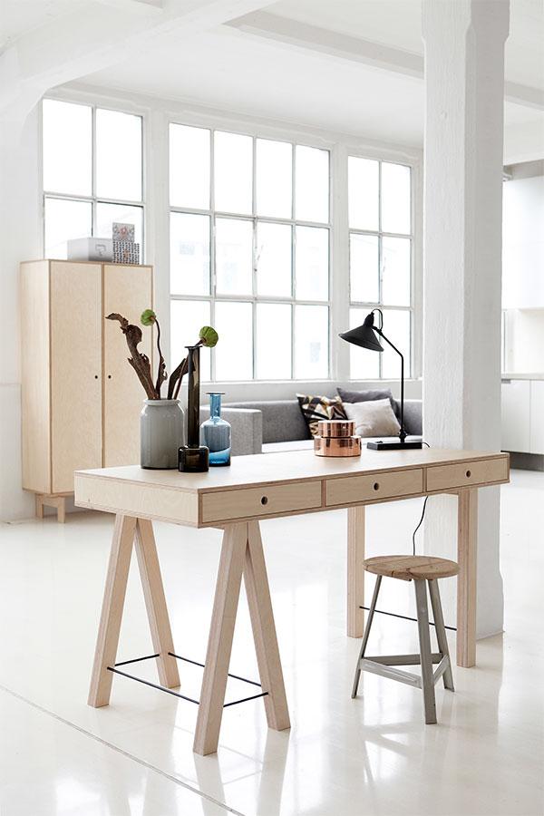 Stack Wooden Desk