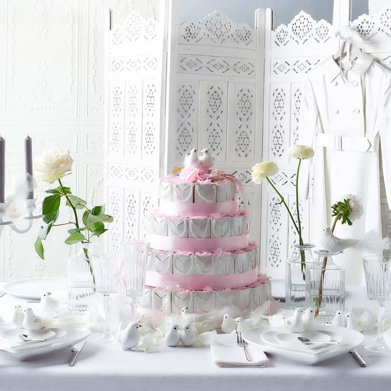 Hochzeitstafel Weiss