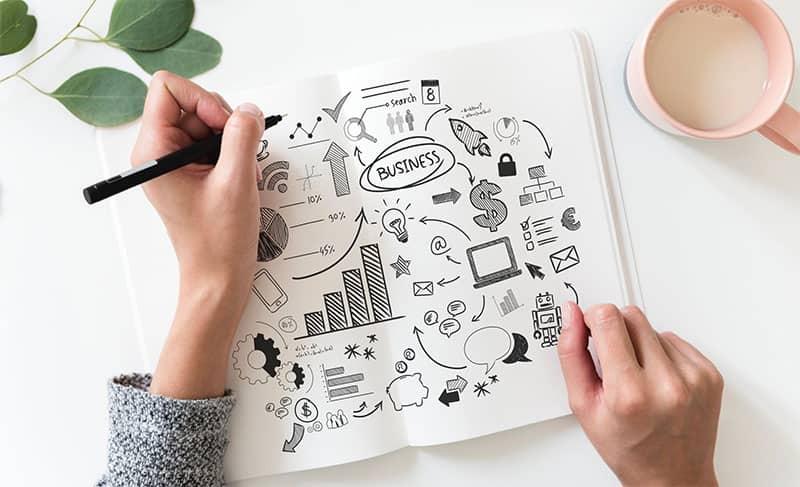 Ein Businessplan ist der erste Schritt bei der Realisierung einer Geschäftsidee