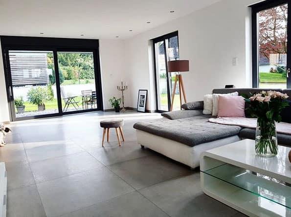 Grosse Formate wirken toll in großen Räumen