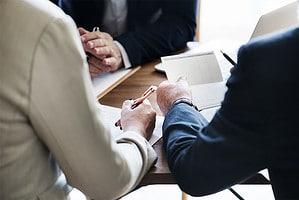 Ein Businessplan dient Investoren als Grundlage