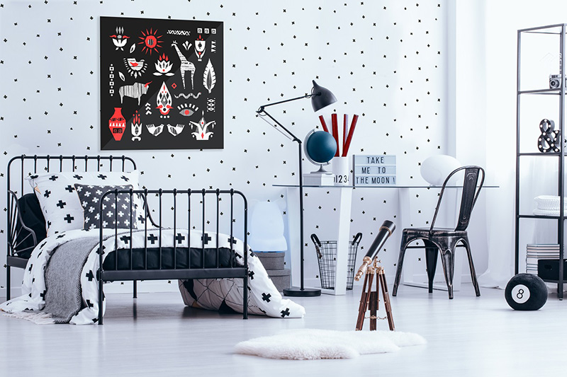 10 inspirationen wie fototapeten den raum ver ndern k nnen kreativliste. Black Bedroom Furniture Sets. Home Design Ideas