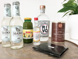 Beispiel für das Gin Geschenkpaket von Liquid Director