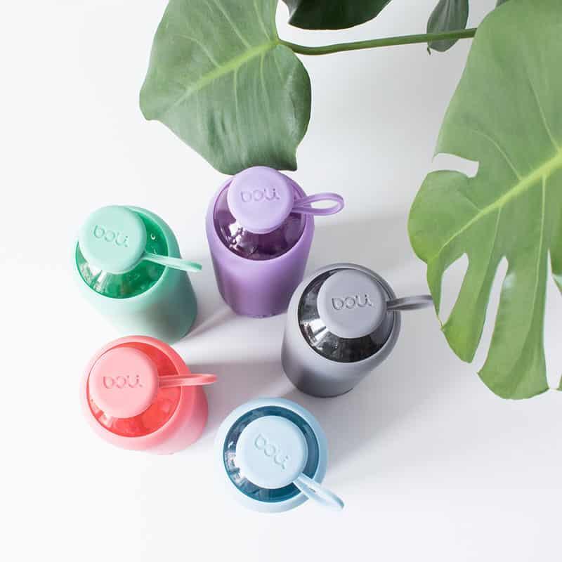 Doli Flaschen gibt es in vier Farben