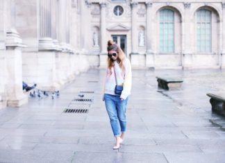 Boyfriend-Jeans treffen auf High Heels