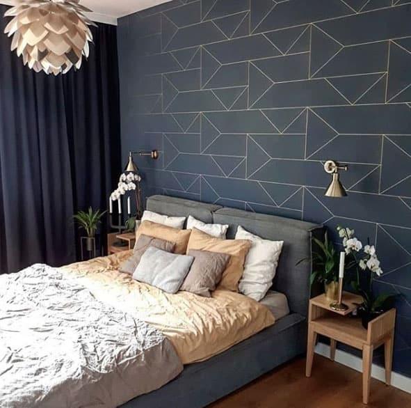 Dunkle Farben im Schlafzimmer bevorzugen - kreativLISTE