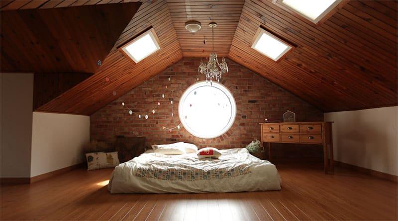 Optische Wärme bringen natürliche Produkte ins Schlafzimmer