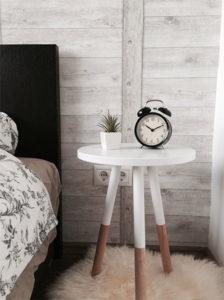 Teppiche im Schlafzimmer können auch klein sein