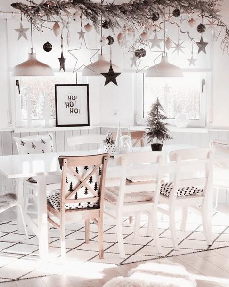 weihnachtliche deko mit sternen kerzen und co kreativliste. Black Bedroom Furniture Sets. Home Design Ideas