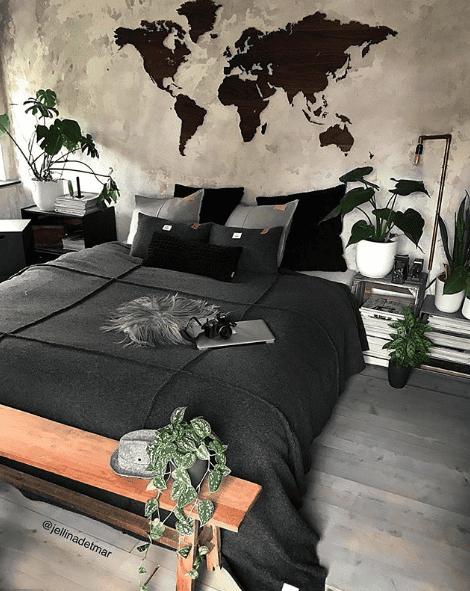 8 ideen f r gem tliche kleine schlafzimmer kreativliste. Black Bedroom Furniture Sets. Home Design Ideas
